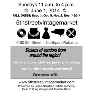 June 1 2014 5th Street Vintage Market